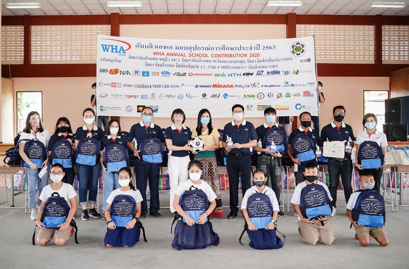 WHA Group School Contribution Program  Helps Foster a Brighter Future for the Youth
