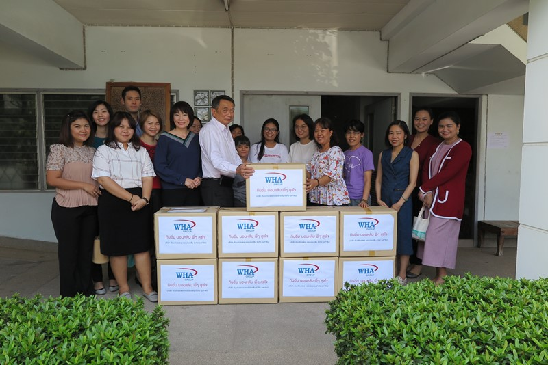 WHA Group Presents its Contribution to  Holt Sahathai Foundation and Baan Nokkamin Foundation