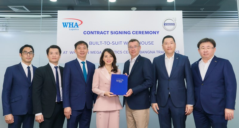 Volvo Cars (Thailand) Inks Built-to-Suit Warehouse Lease Agreement at WHA-KPN Mega Logistics Center Bangna-Trad