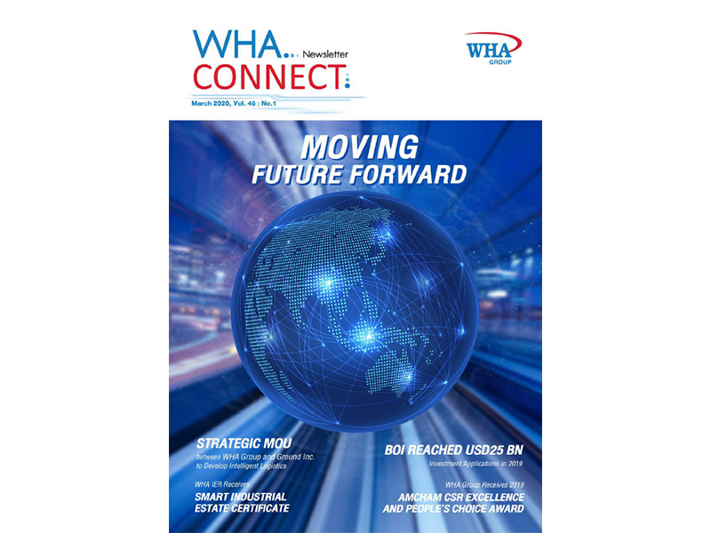 WHA Connect Newsletter - March 2020, Vol. 46 : No.1