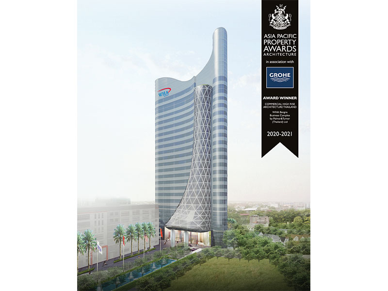 WHA Tower Shines at Asia Pacific Property Awards