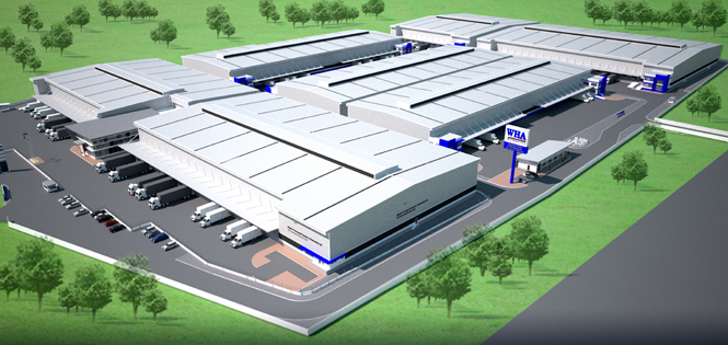 WHA Mega Logistics Center Bangna-Trad km.18